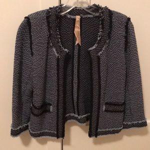 Bailey44 blue tweed jacket